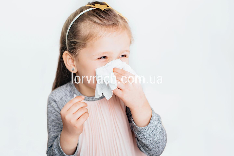 ринит у детей и взрослых фото