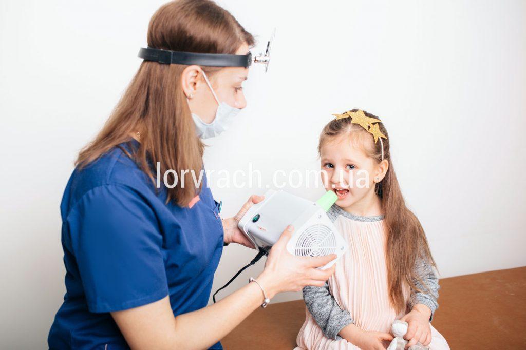 Процедура уфо носа и зева для детей