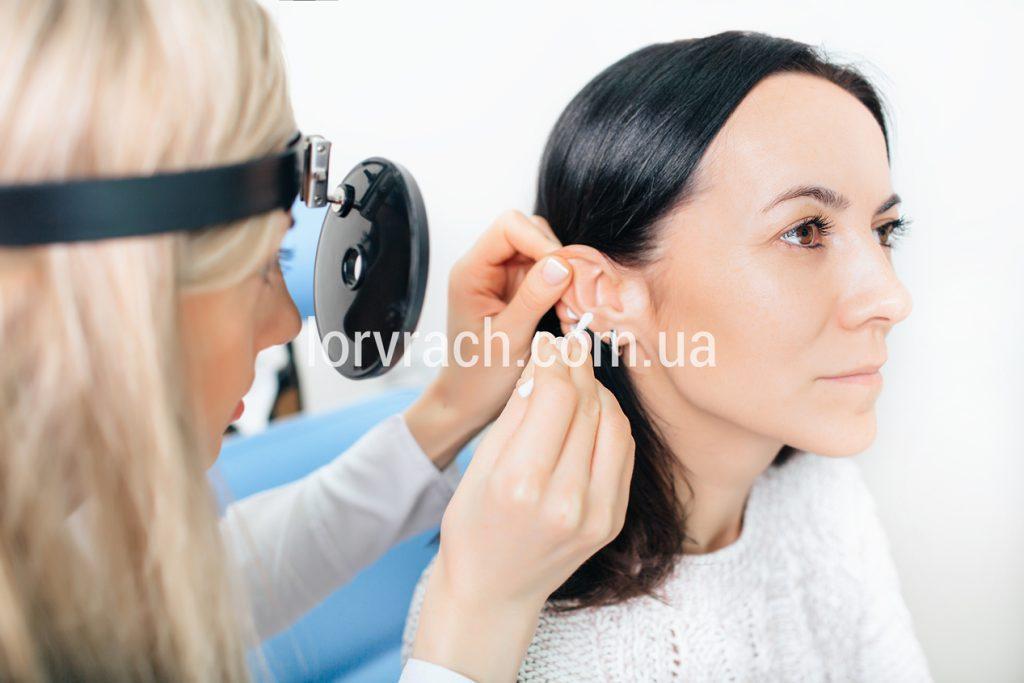 Промивання зовнішнього слухового проходу